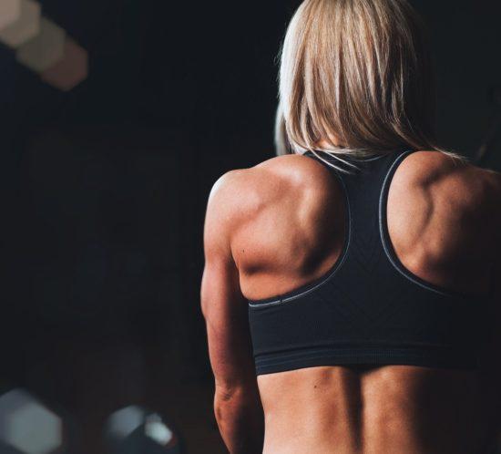 Muskeln durch Yoga