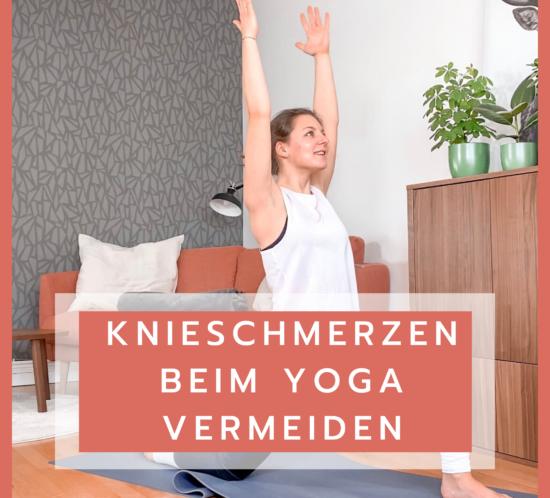 Knieschmerzen Yoga
