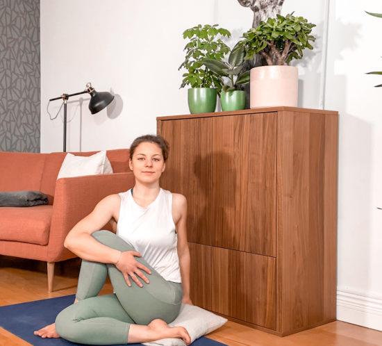 Yoga während Menstruation